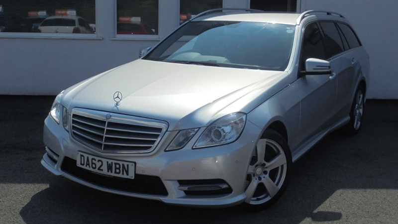 used Mercedes E220 CDI BLUEEFFICIENCY S/S SE**Sat Nav + Full History + Leather** in WIRRAL
