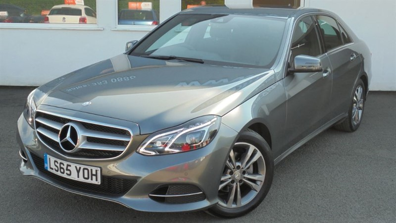 used Mercedes E220 BLUETEC SE**Leather + Sat Nav** in WIRRAL