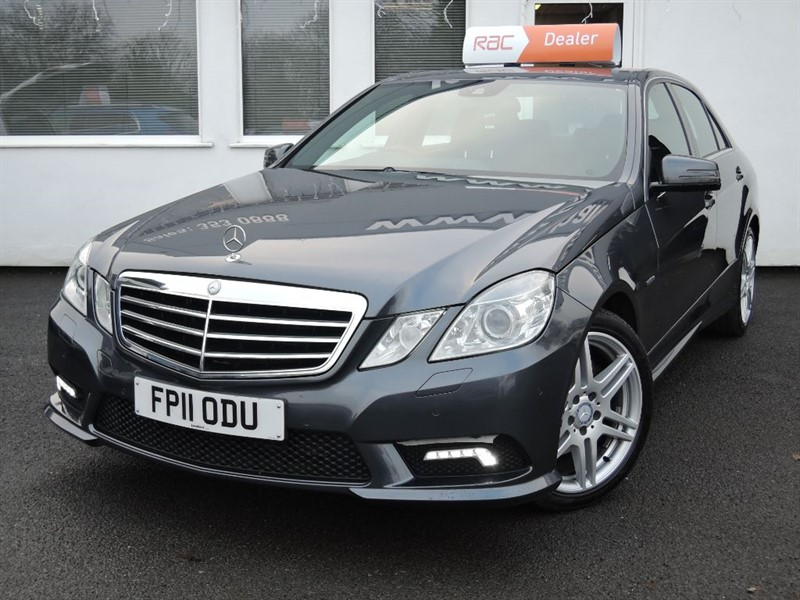 used Mercedes E250 CDI BLUEEFFICIENCY SPORT in WIRRAL