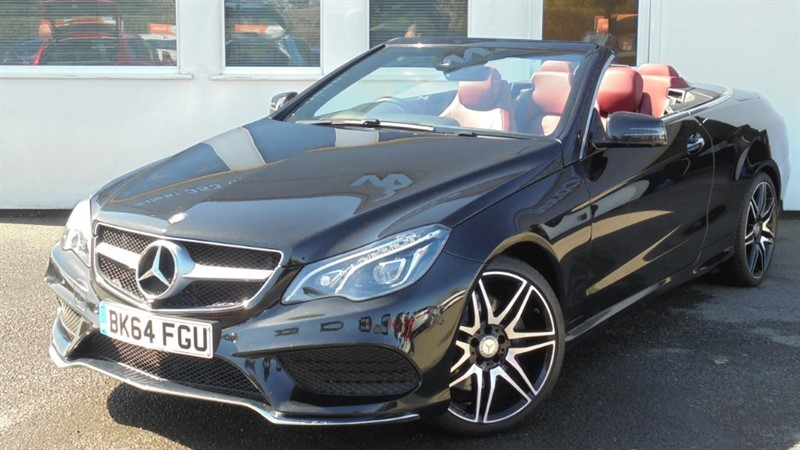used Mercedes E400 AMG LINE *Bengal Red Leather* in WIRRAL