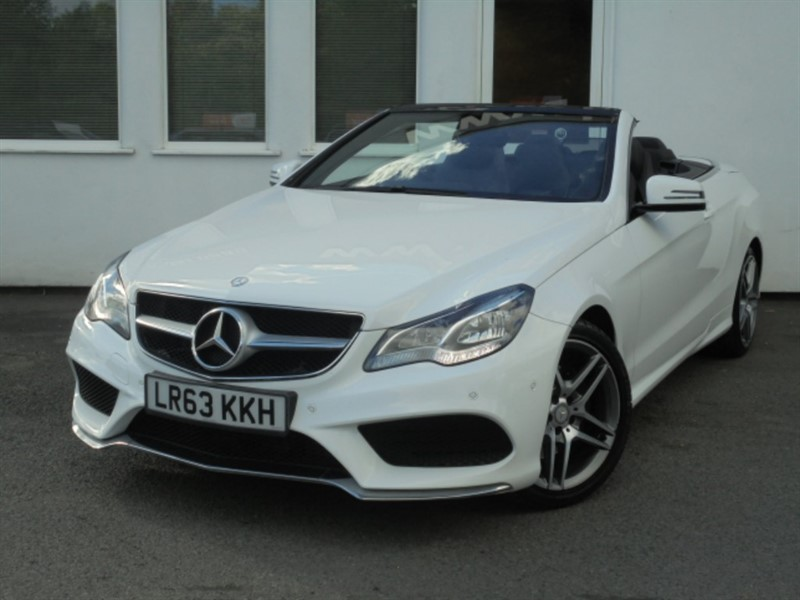 used Mercedes E220 CDI AMG SPORT in WIRRAL