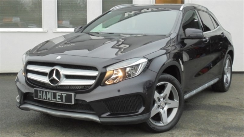 used Mercedes GLA200 CDI AMG LINE EXECUTIVE**Privacy+1 owner+Full History** in WIRRAL