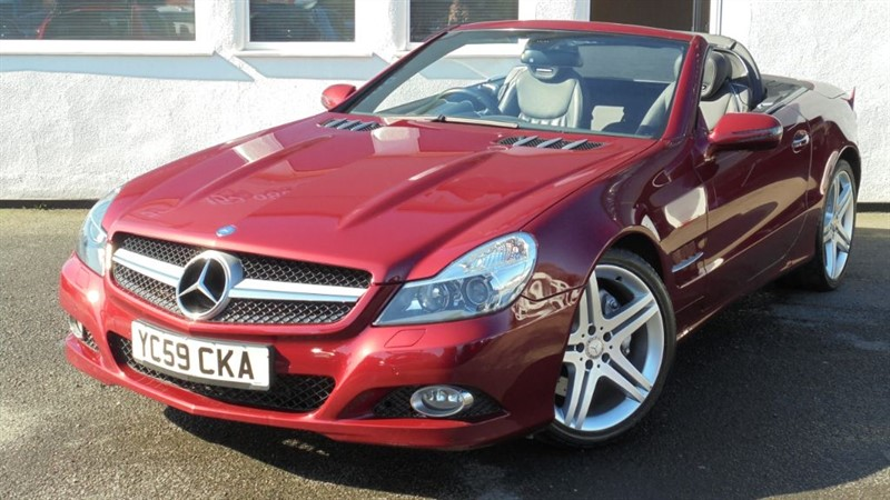 used Mercedes SL SL300 *Panoramic Roof+Nav+Air Scarf+Memory Seats* in WIRRAL