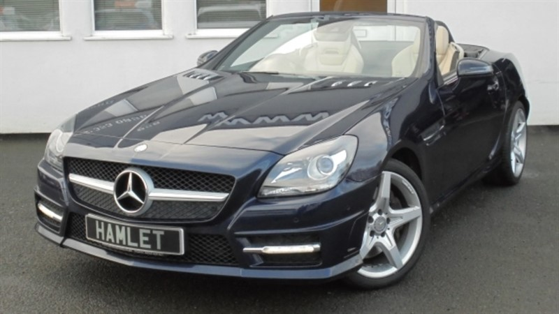 used Mercedes SLK200 SLK200 BLUEEFFICIENCY AMG SPORT ED125 *Glass Roof* in WIRRAL