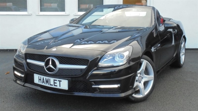 used Mercedes SLK250 SLK250 BLUEEFFICIENCY AMG SPORT**Sat Nav+Parking Pack+Airscarf** in WIRRAL