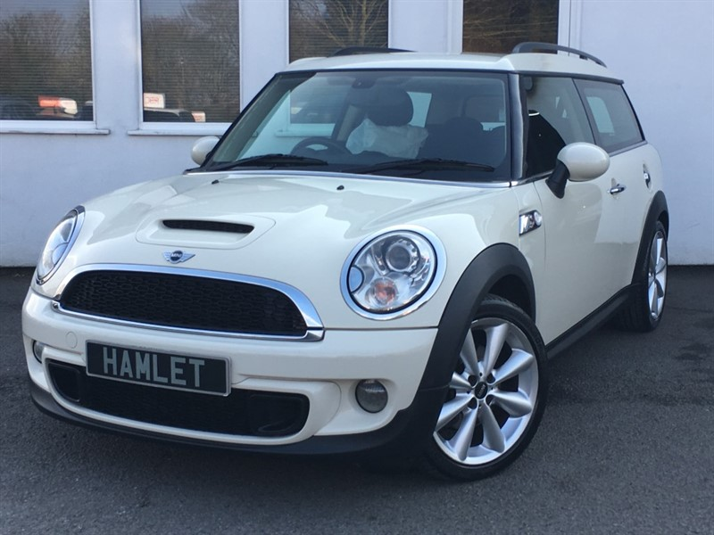 used MINI Clubman COOPER SD CLUBMAN**Sat Nav+Media+** in WIRRAL