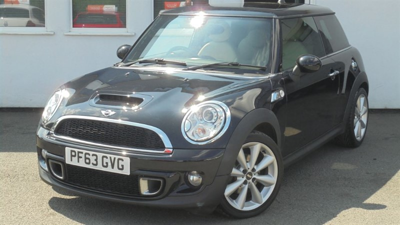 used MINI Cooper S COOPER SD**Polar Beige Leather+Full History** in WIRRAL