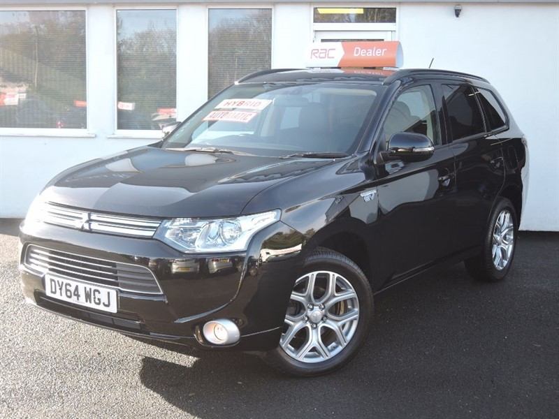 used Mitsubishi Outlander PHEV GX 3H in WIRRAL
