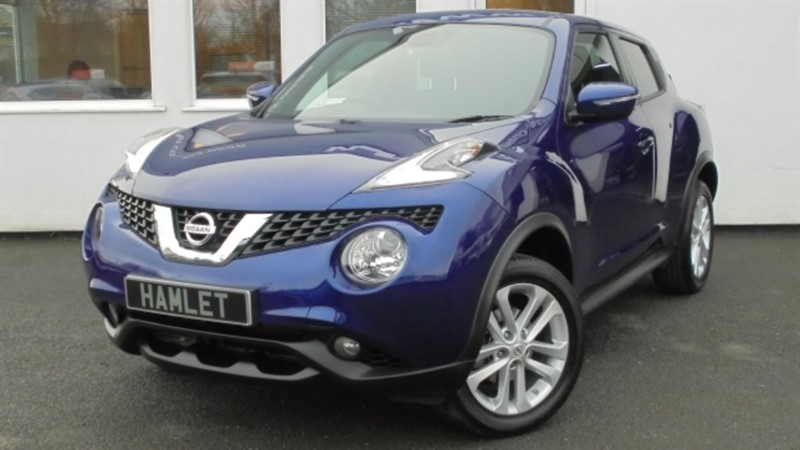 used Nissan Juke N-CONNECTA XTRONIC**Nav+Privacy+Rear Camera+DAB+Full Dealer History** in WIRRAL
