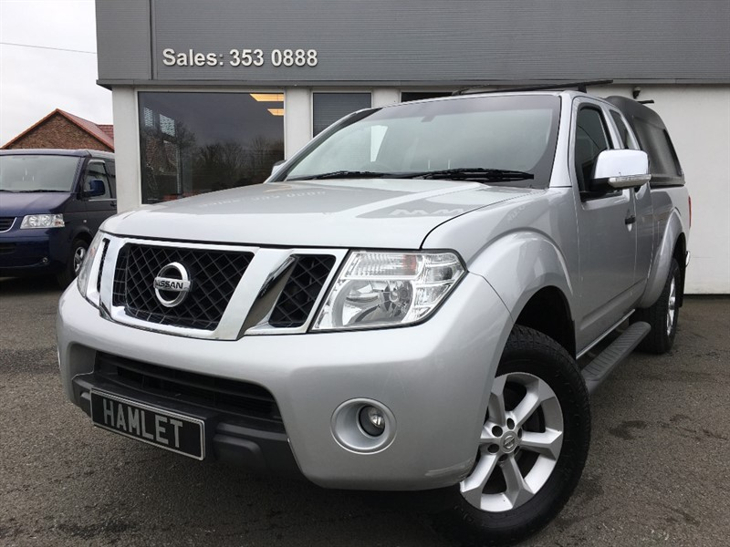 used Nissan Navara DCI ACENTA 4X4 SHR KCB**Sat Nav+Rev Camera+ARB Lockable Canopy** in WIRRAL
