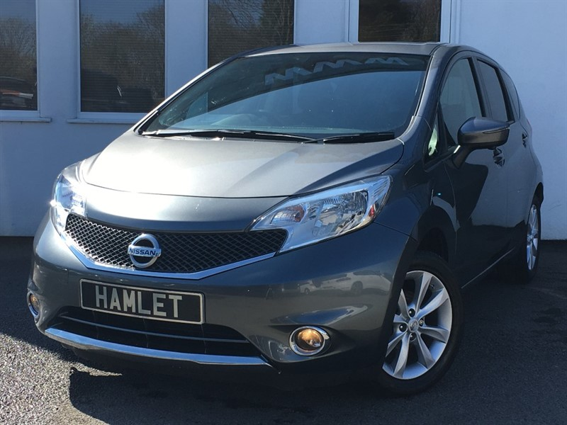 used Nissan Note ACENTA PREMIUM SAFETY DIG-S**Sat Nav+Climate+Privacy+Cameras** in WIRRAL