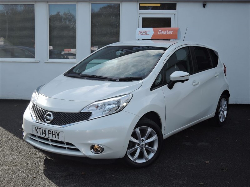 used Nissan Note TEKNA DIG-S in WIRRAL