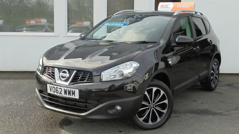 used Nissan Qashqai N-TEC PLUS DCI *Pan Roof + Sat Nav* in WIRRAL
