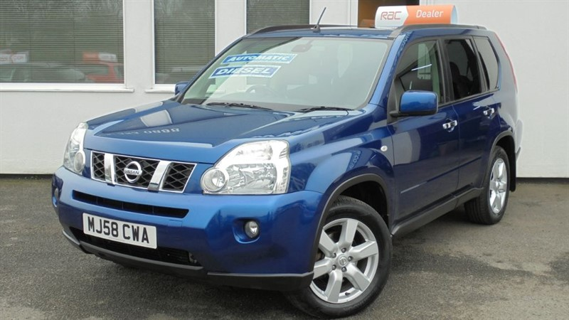 used Nissan X-Trail SPORT EXPEDITION DCI *FSH*SAT NAV*BLUETOOTH*PANORAMIC ROOF* in WIRRAL