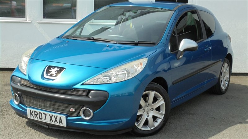 used Peugeot 207 SPORT 1.6 HDI in WIRRAL
