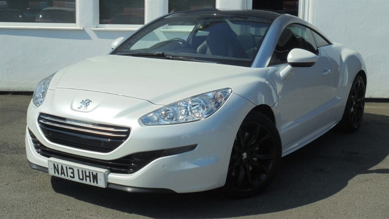 used Peugeot RCZ HDI GT**Park Sensors + Black Leather+FSH**  in WIRRAL