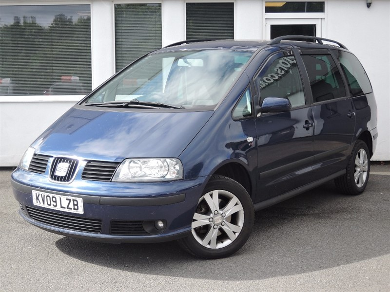 used SEAT Alhambra REFERENCE TDI in WIRRAL