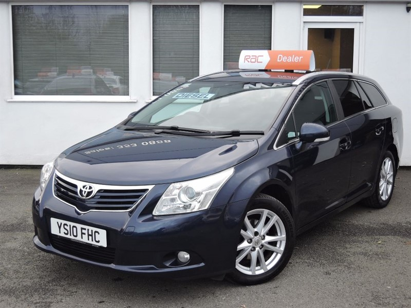 used Toyota Avensis TR D-4D *Full Toyota Service History * SAT NAV * BLUETOOTH *CRUISE CONTROL* in WIRRAL