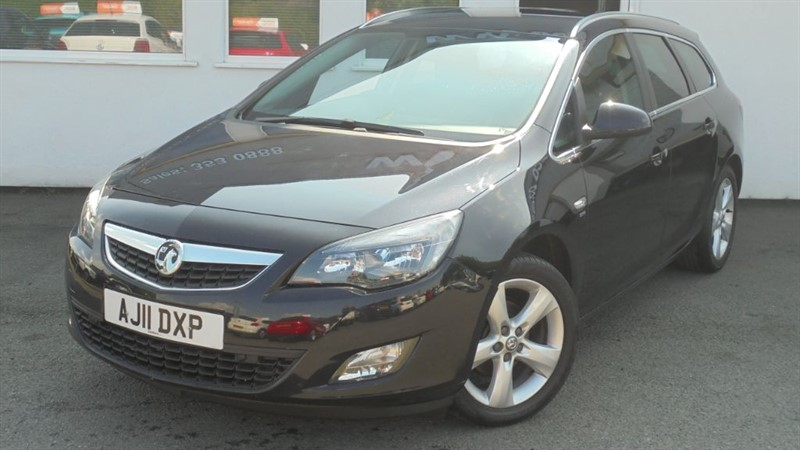 used Vauxhall Astra SRI in WIRRAL