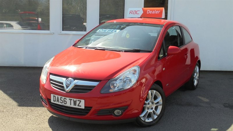 used Vauxhall Corsa SXI CDTI in WIRRAL