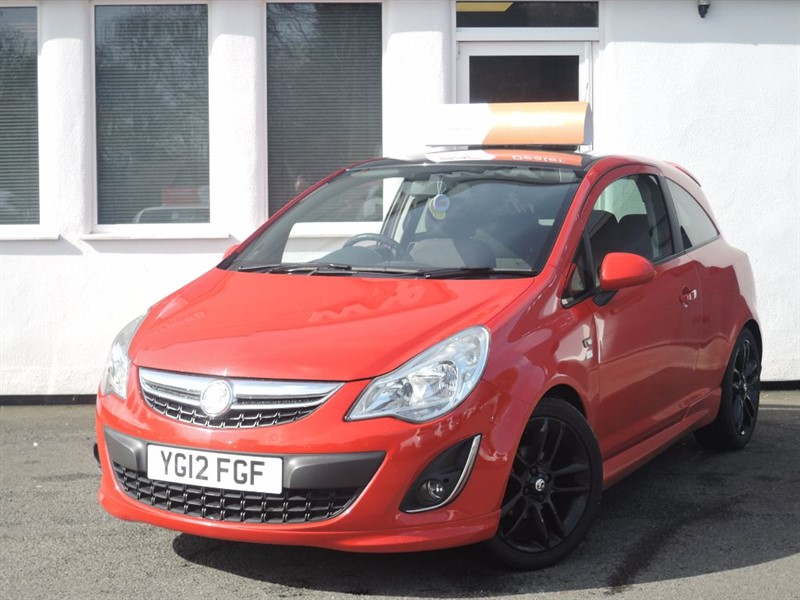 used Vauxhall Corsa LIMITED EDITION in WIRRAL