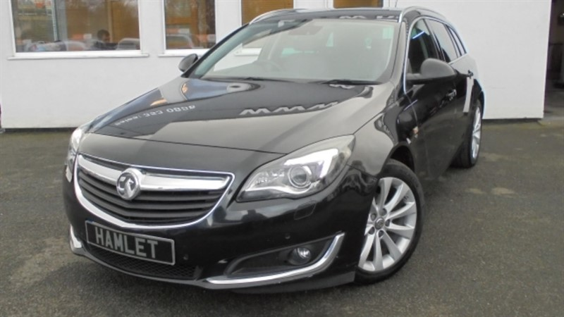 used Vauxhall Insignia ELITE CDTI ECOFLEX S/S**BLACK LEATHER+1 OWNER+ FSH** in WIRRAL