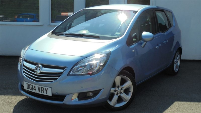 used Vauxhall Meriva TECH LINE CDTI**Full Dealer History** in WIRRAL