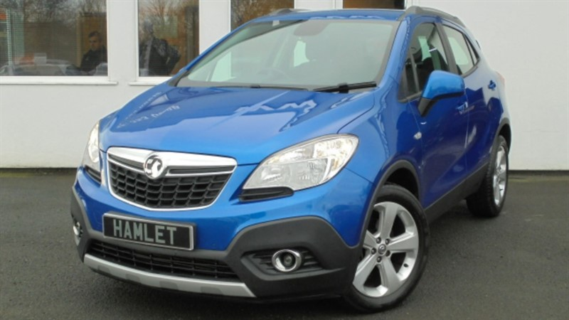 used Vauxhall Mokka EXCLUSIV CDTI S/S *Rare 4 Wheel Drive Model* in WIRRAL