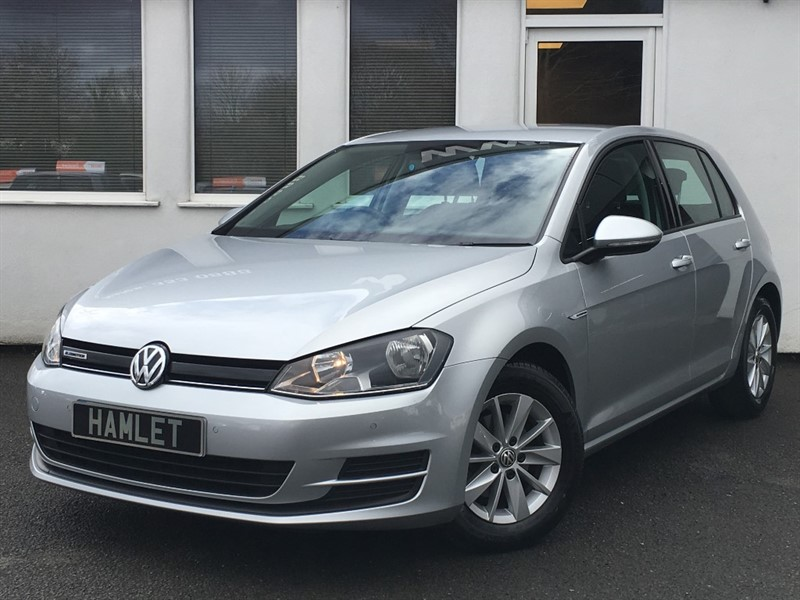 used VW Golf BLUEMOTION TDI *DAB * Parking sesnors * Bluetooth* in WIRRAL