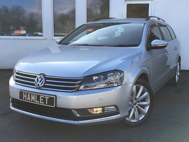 used VW Passat HIGHLINE TDI BLUEMOTION TECHNOLOGY DSG**Sat Nav+Full History** in WIRRAL