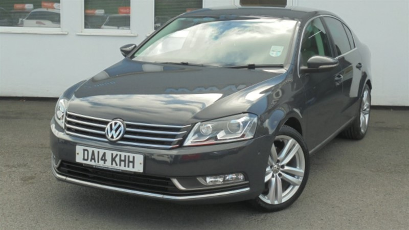 used VW Passat EXECUTIVE STYLE TDI BMT**Park Assist + Leather + Full History** in WIRRAL
