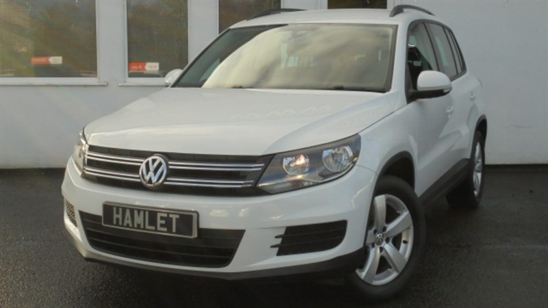 used VW Tiguan S TDI BLUEMOTION TECHNOLOGY**Sat Nav+Park Sensor+DAB Radio** in WIRRAL