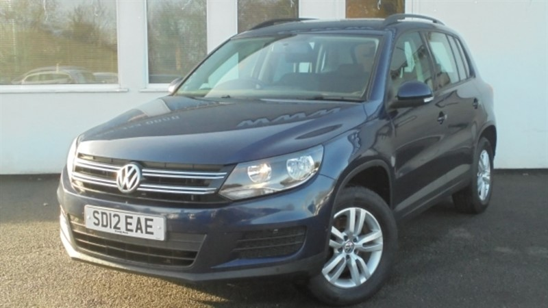 used VW Tiguan S TSI 4MOTION in WIRRAL