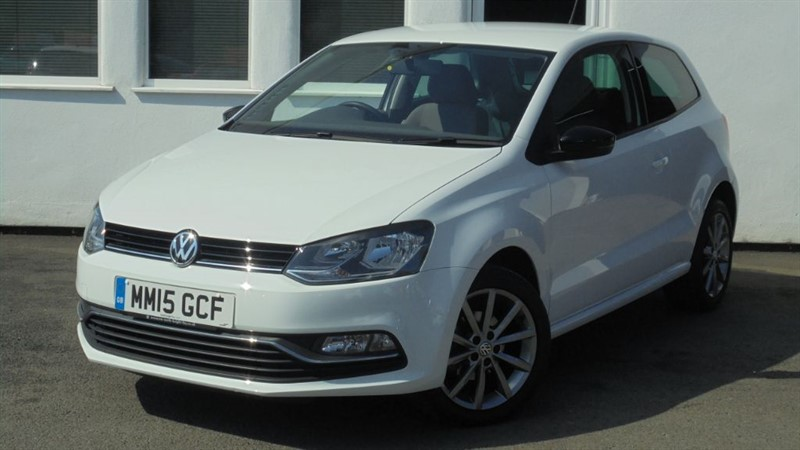 used VW Polo SE DESIGN**Privacy Glass + Alloys + 1 owner** in WIRRAL