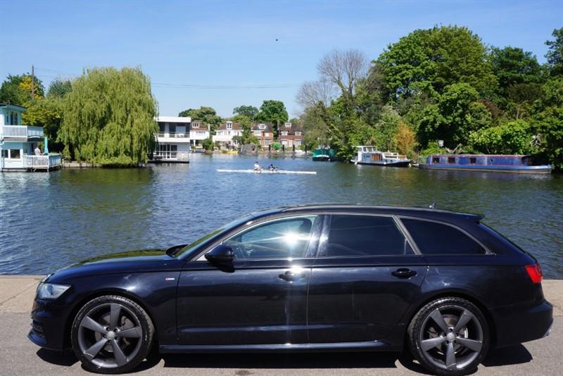 used Audi 100 AVANT TDI S LINE BLACK EDITION in hampton-court-surrey