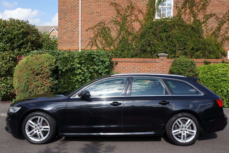used Audi 100 AVANT TDI S LINE in hampton-court-surrey