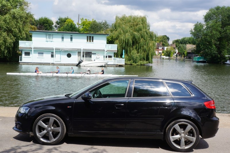 used Audi A3 SPORTBACK TDI S LINE SPECIAL EDITION in hampton-court-surrey