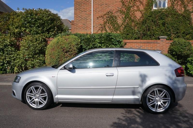 used Audi A3 TFSI S LINE in hampton-court-surrey