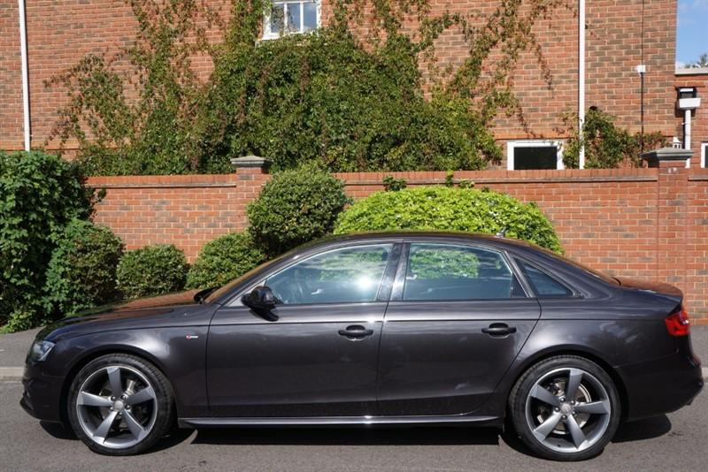 used Audi A4 TDI S LINE BLACK EDITION in hampton-court-surrey