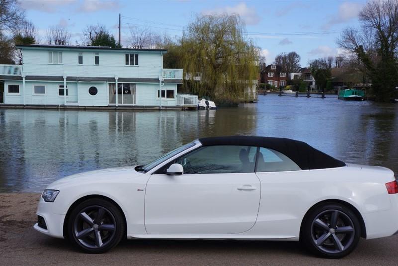 used Audi A5 TDI S LINE in hampton-court-surrey
