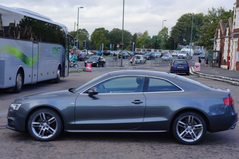 Used Grey Met With Black Leather Audi A For Sale KingstonUpon - Audi a5 for sale