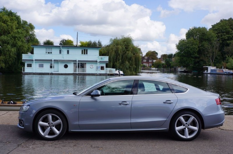 used Audi A5 SPORTBACK TDI S LINE in hampton-court-surrey