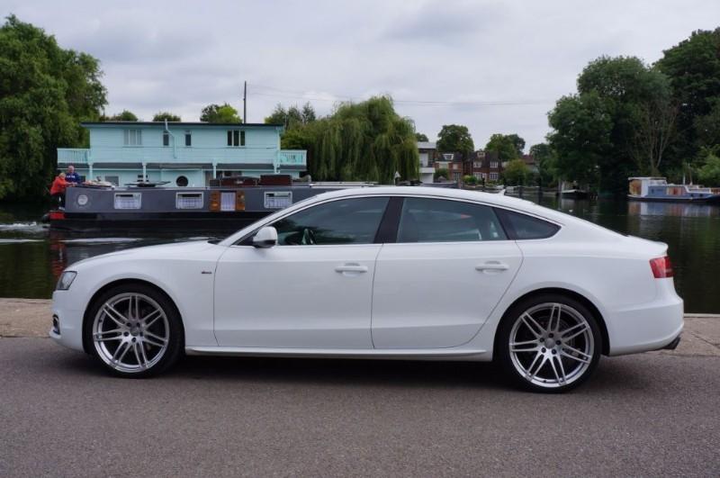 used Audi A5 SPORTBACK TFSI QUATTRO S LINE in hampton-court-surrey