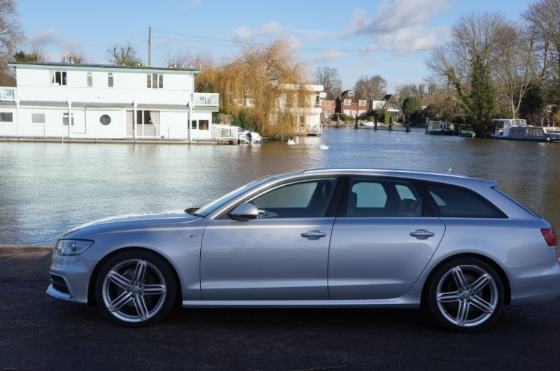 used Audi A6 Avant TDI S LINE in hampton-court-surrey