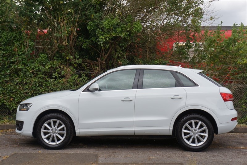 used Audi Q3 TDI QUATTRO SE in hampton-court-surrey