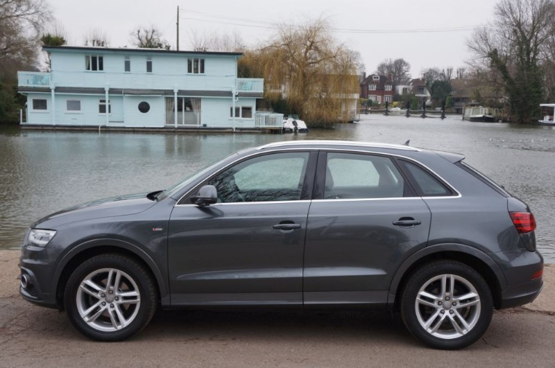 used Audi Q3 TFSI QUATTRO S LINE in hampton-court-surrey