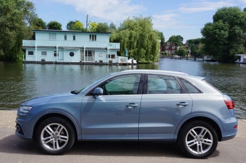 used Audi Q3 TFSI QUATTRO S LINE in hampton-court-surrey