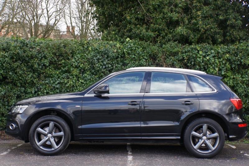 used Audi Q5 TDI QUATTRO DPF S LINE in hampton-court-surrey