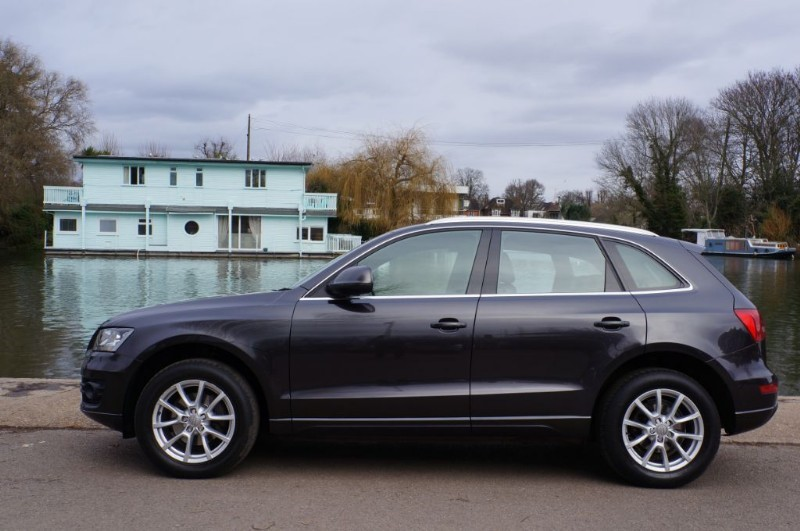 used Audi Q5 TDI QUATTRO SE DPF in hampton-court-surrey