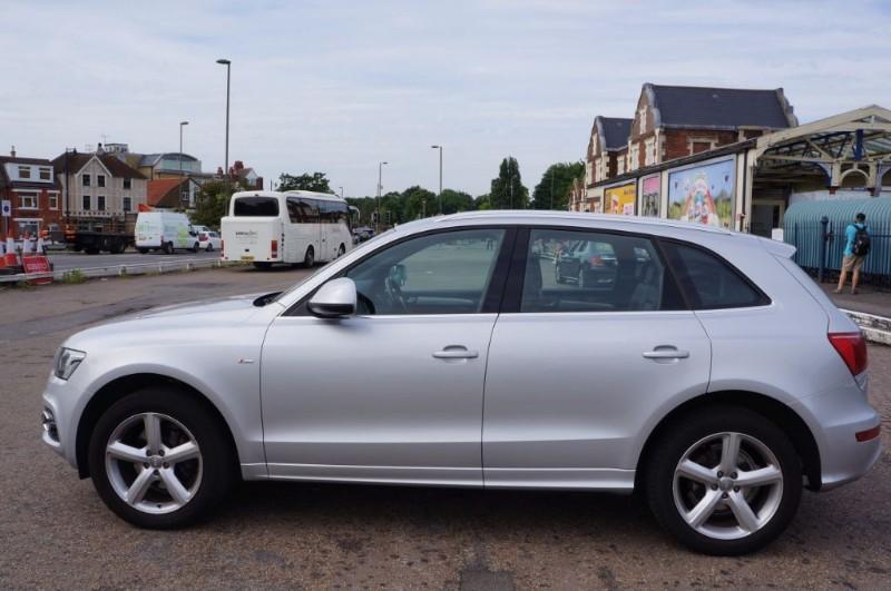 used Audi Q5 TFSI QUATTRO S LINE in hampton-court-surrey